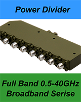 broadband power divider